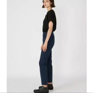 COPY - RE/DONE HIGH RISE STOVE PIPE JEANS 29""